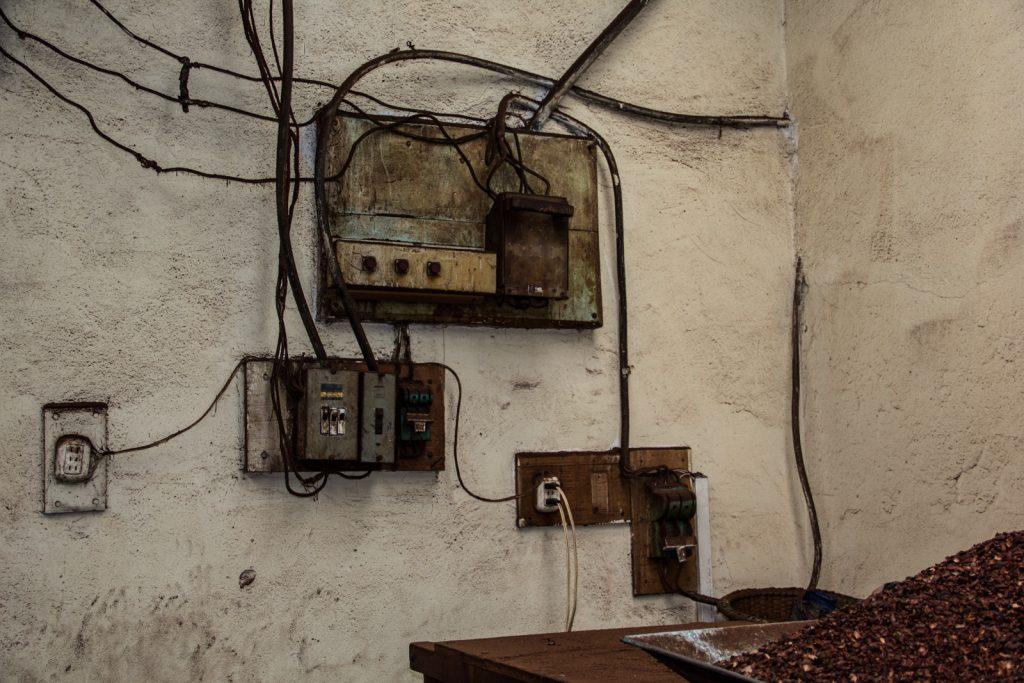 Die Elektroinstallation ist nicht jünger als die Maschinen