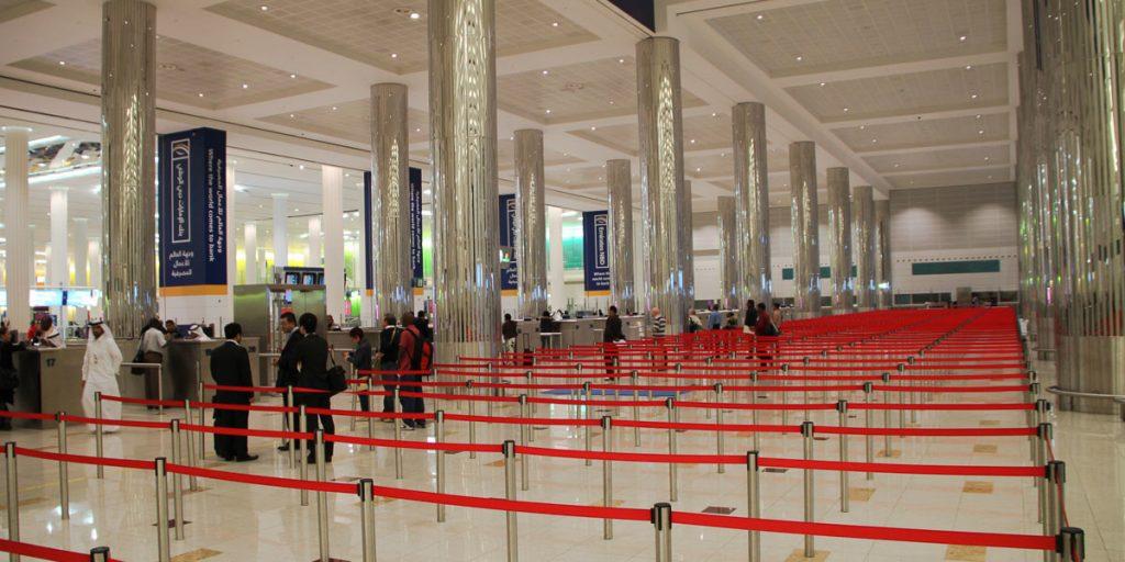 Leere Einreise in Dubai