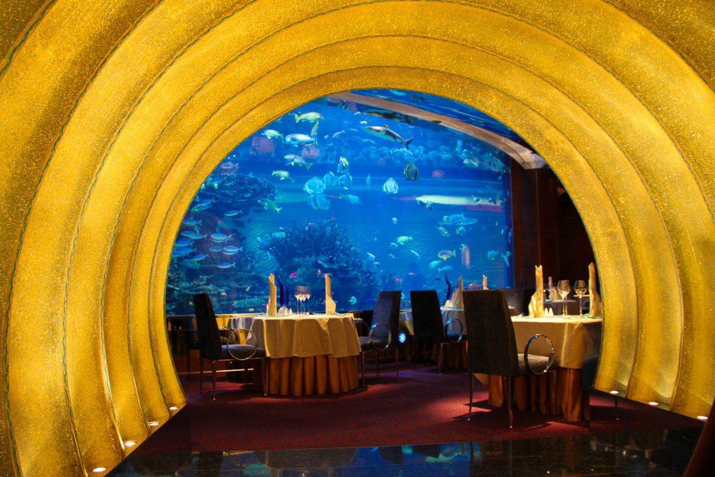 El Mahara Restaurant im Burj al Arab