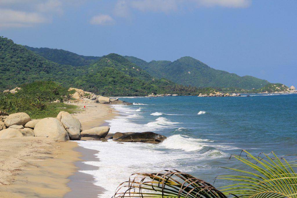 Blick über den Cañaveral Strand