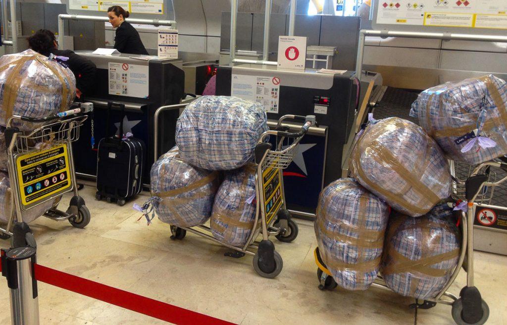 Übergepäck - da hilft keine Packliste