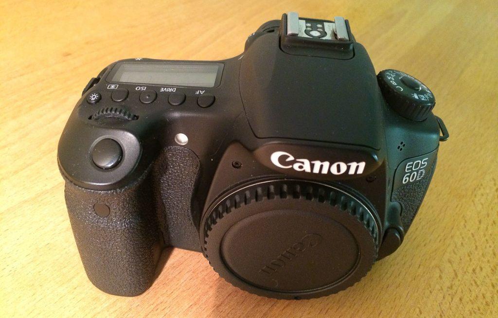 Canon EOS 60D Vorderansicht