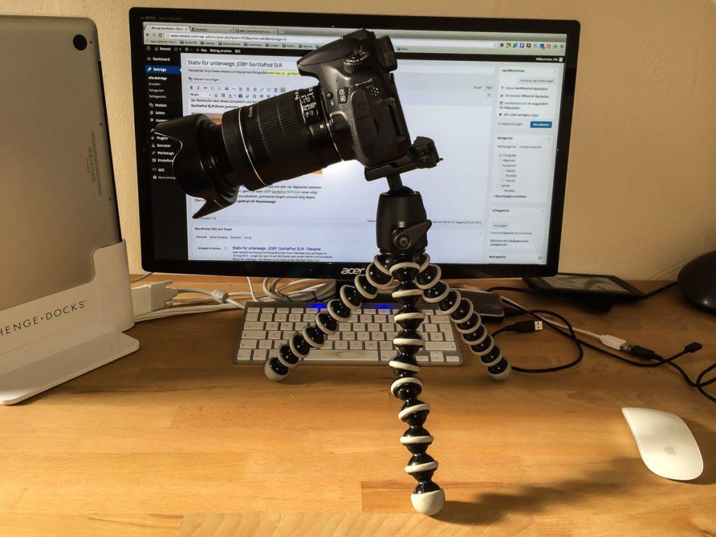 Canon EOS 60D auf JOBY GorillaPod SLR