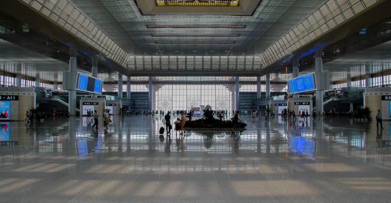 Bahnhof in Nanjing