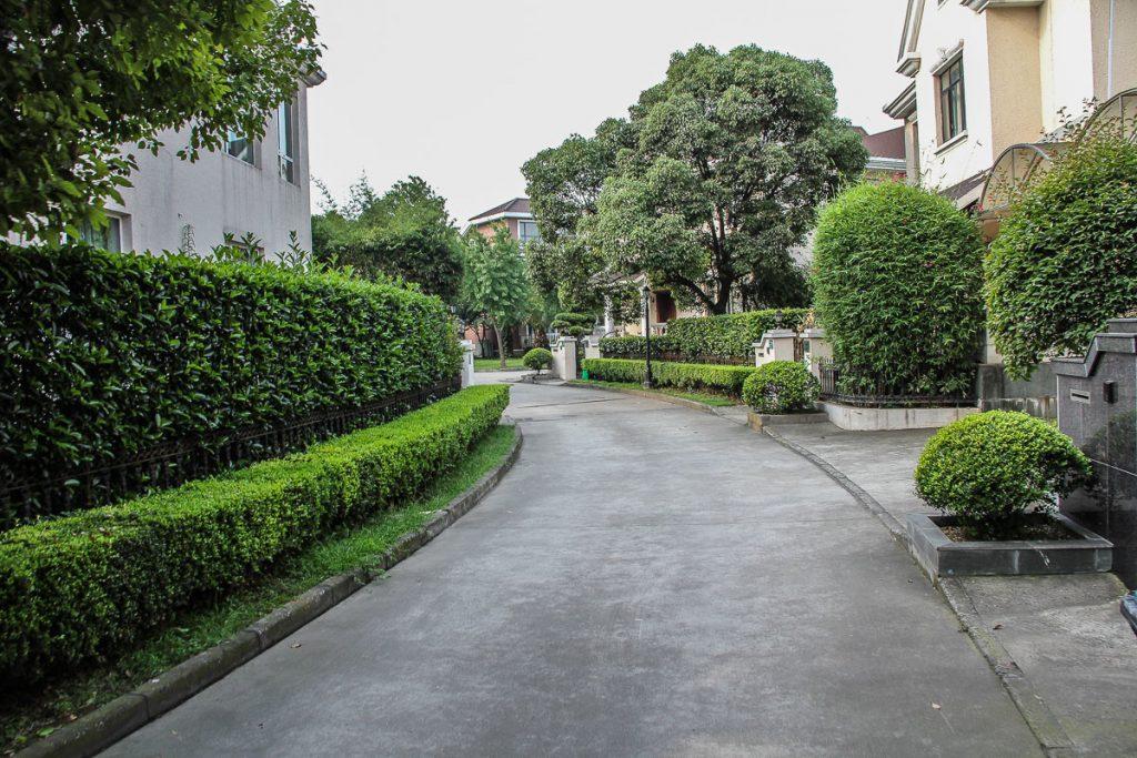 """""""unsere"""" Nachbarschaft in Shanghai"""