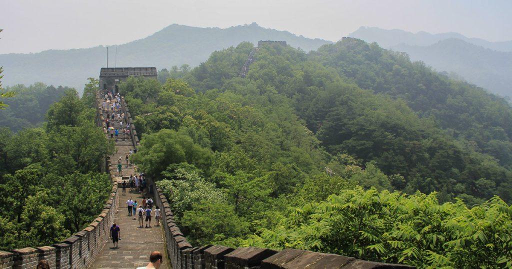 Die chinesische Mauer: Abschnitt Mutianyu