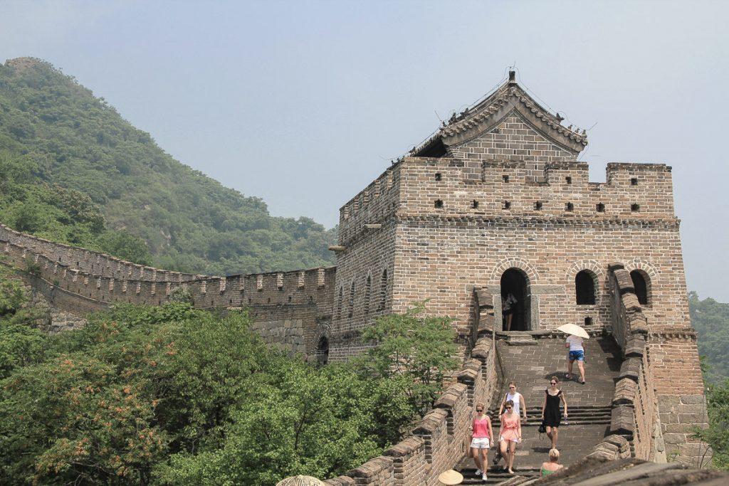 Wachturm auf der chinesischen Mauer
