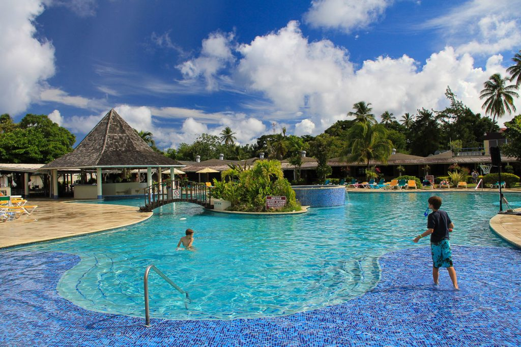 Hotel Turtle Beach auf Tobago