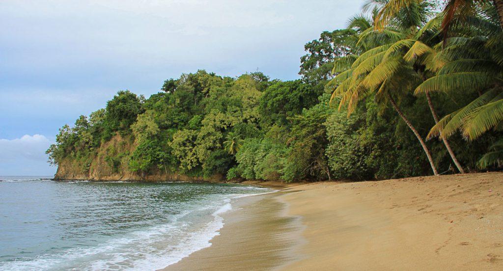 einsame Bucht auf Tobago