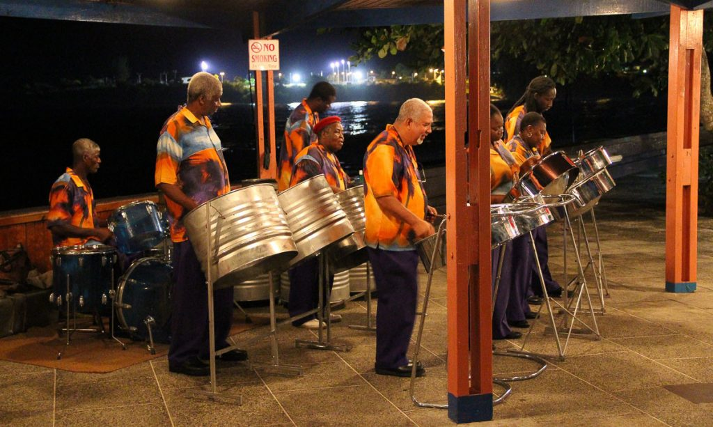 Steel-Drums in der Karibik