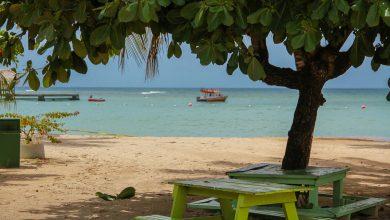 Tobago - Strand am Pidgeon Point