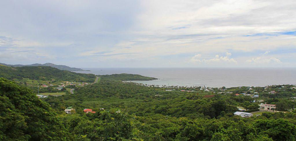 Ausblick vom Fort King Georg über Tobago