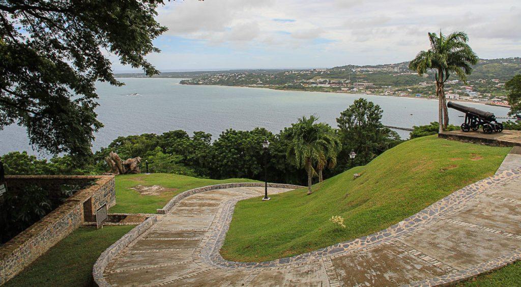 Fußweg im Fort King George