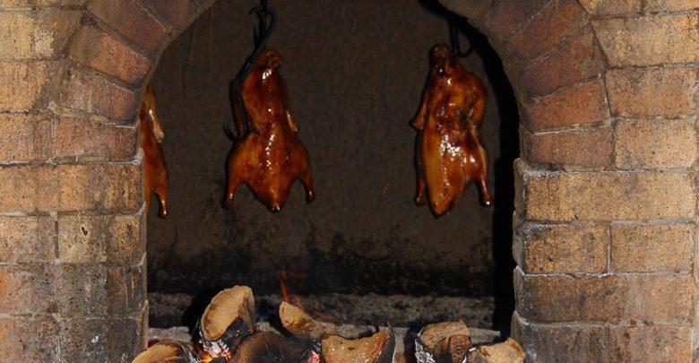 knusprige Peking Ente im Ofen