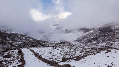 Bild von Refugio Whymper am Chimborazo | auf dem höchsten Berg der Welt