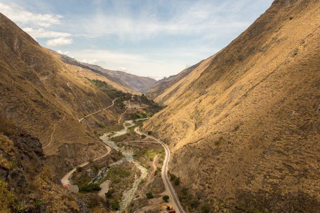 Fahrt zur Teufelsnase - Blick über den Rio Chanchán