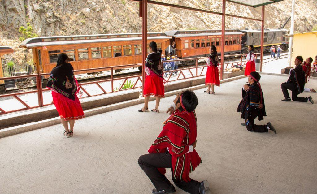 Tänzer in Sibambe