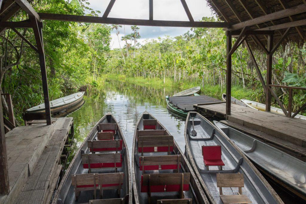 Ankunft an der Lagune von Pilchicocha