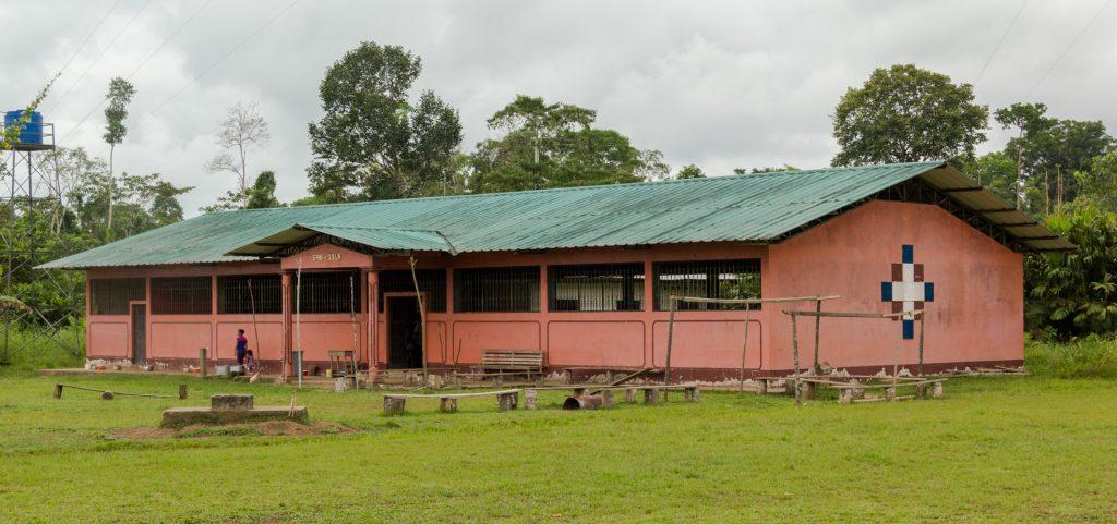 Das Gemeindehaus von Sani Isla