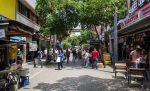 Fußgängerzone in Medellin