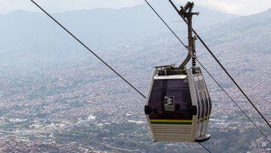 Seilbahn Metro Cable in Medellin