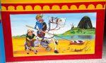 Don Quijote mit seinem Diener Sancho Panza