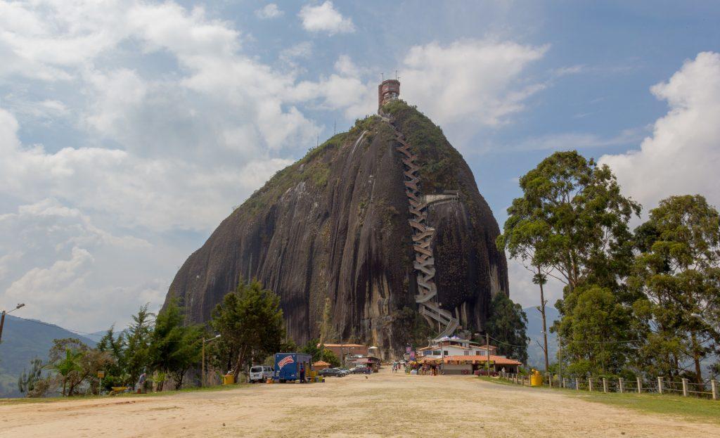Blick auf den Piedra del Peñol