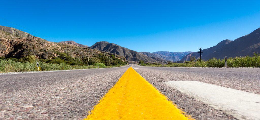 Auf der Ruta 9 in Argentinien