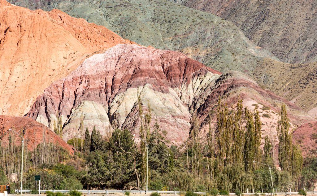 Cerro de los Siete Colores, der Berg der sieben Farben