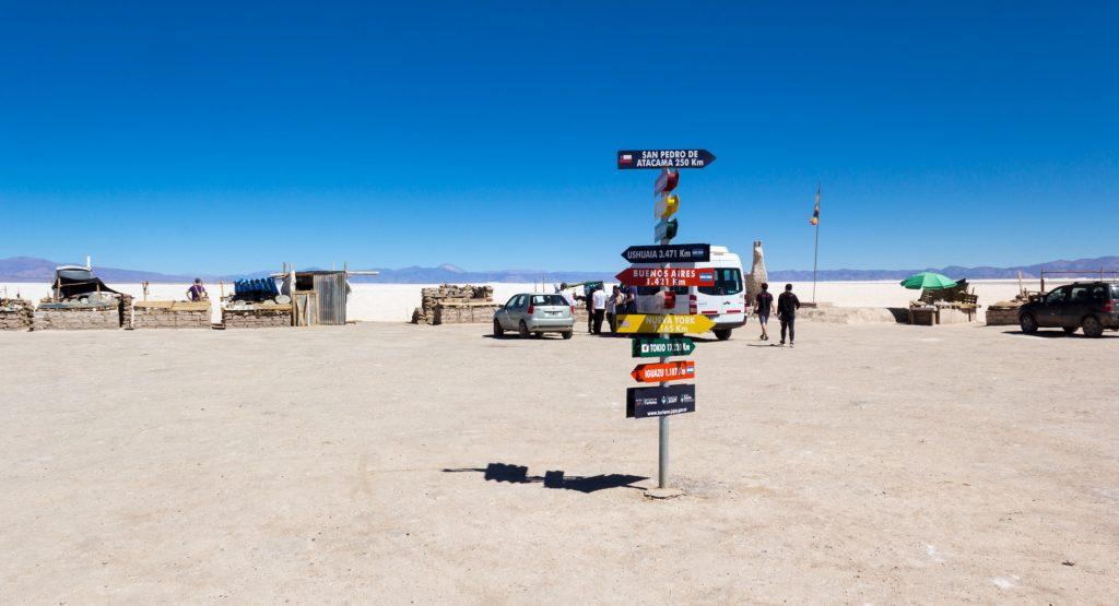 Die Salinas Grandes in Argentinien