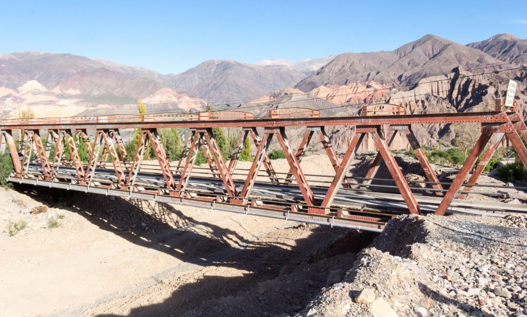 Brücke bei Tilcara