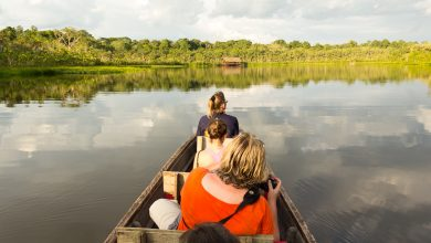 Über die Pilchicoca-Lagune zur Sacha Lodge