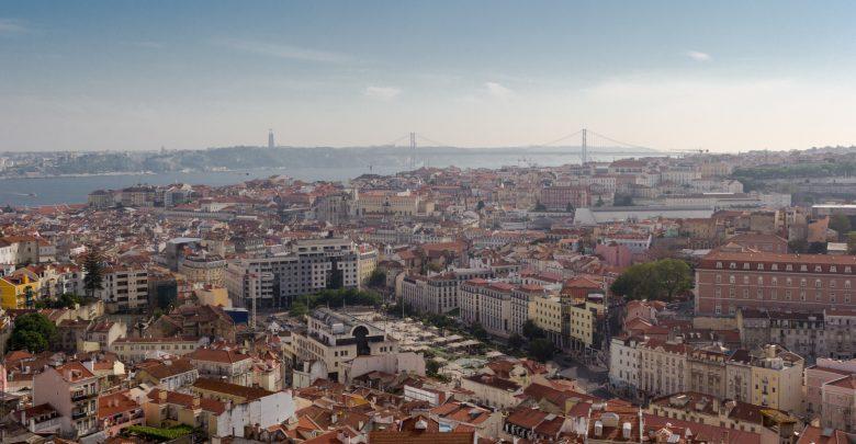 Blick über die Altstadt von Lissabon