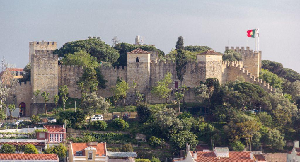 Blick auf das Castelao de São Jorge