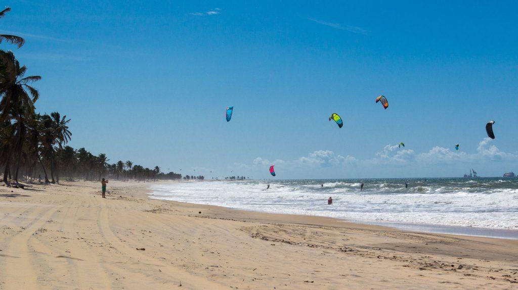 Kitesurfer in Ceará