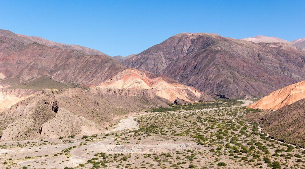 Blick über die Quebrada de Humahuaca