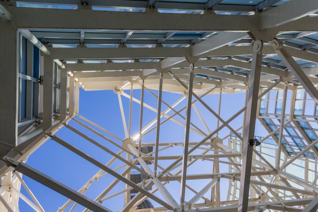 Offenes Dach der Sky Costanera Plattform