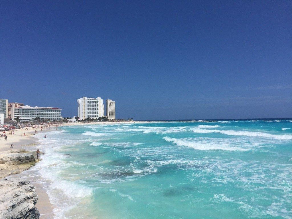 Der Strand von Cancun - traumhaft