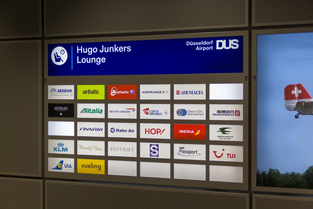 Hugo Junkers Lounge in Düsseldorf
