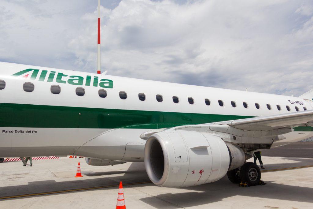Embraer 175 von Alitalia