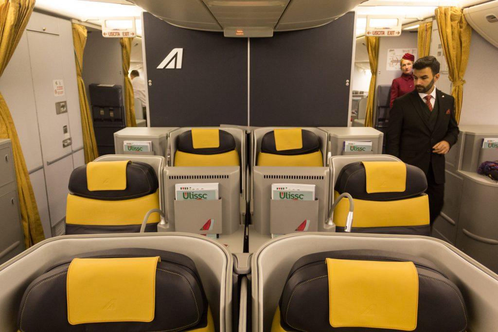 Business-Class Magnifica von Alitalia