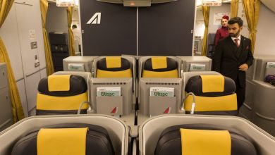 Photo of Alitalia Flug AZ688 Business-Class von Rom nach Santiago de Chile