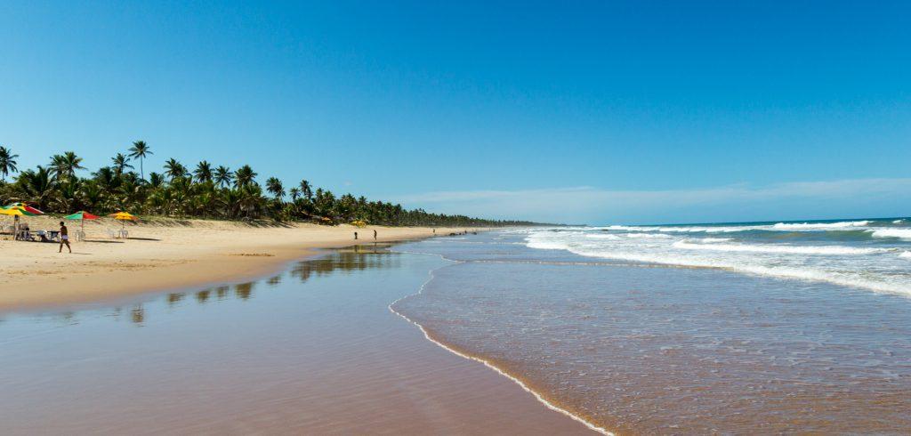 endloser Strand an der Atlantikküste