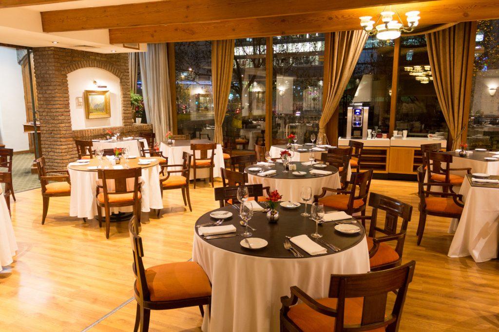 Restaurant im NH-Hotel
