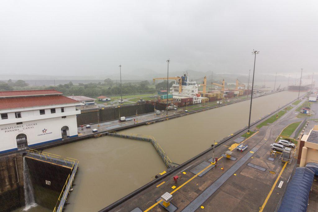 Schleusen vom Panama-Kanal