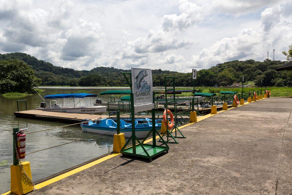 Bootsanleger vom Gamboa Rainforest Resort