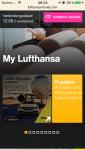 Screenshot Lufthansa FlyNet