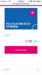 Full Flat für 17,- Euro