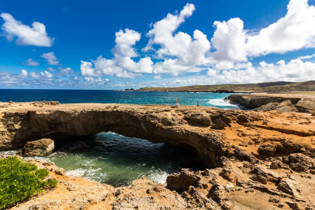 Die Natural Bridge auf Aruba