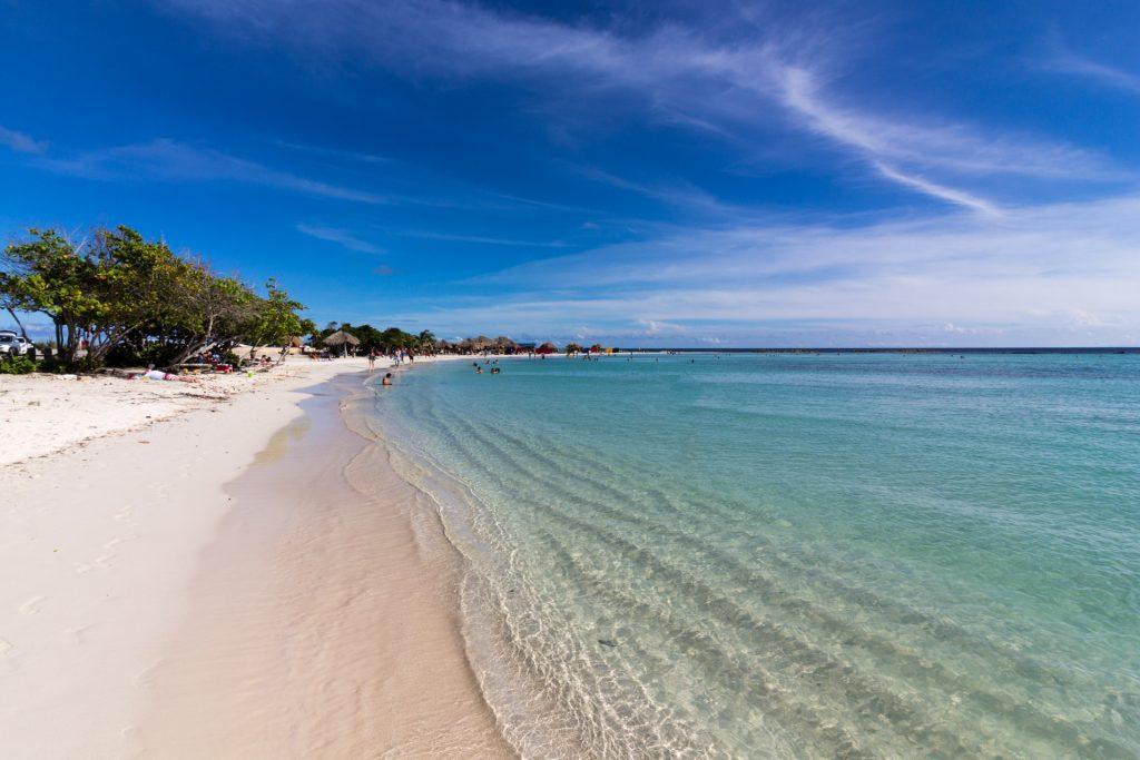 Der Baby-Beach auf Aruba - Perfekt für Familien mit Kindern